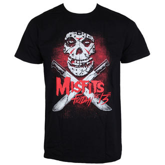 tee-shirt métal pour hommes Misfits - Friday 13Th - LIVE NATION, LIVE NATION, Misfits