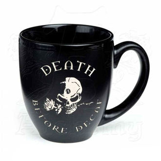 Mug ALCHEMY GOTHIC - Death Before Decaf, ALCHEMY GOTHIC
