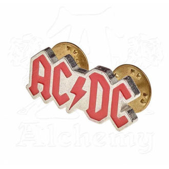 Rivet AC / DC - ALCHEMY GOTHIC - Enamel Logo, ALCHEMY GOTHIC, AC-DC