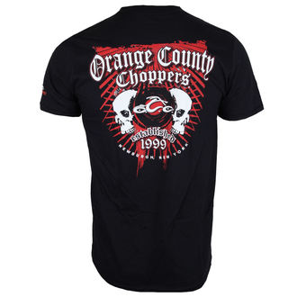 t-shirt pour hommes - Two Skulls - ORANGE COUNTY CHOPPERS, ORANGE COUNTY CHOPPERS