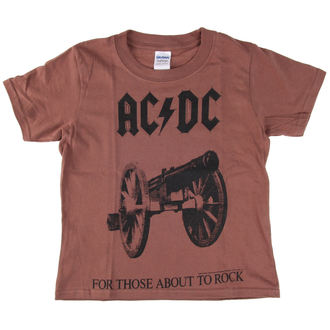 tee-shirt métal pour hommes enfants AC-DC - For Those About To Rock - LOW FREQUENCY, LOW FREQUENCY, AC-DC