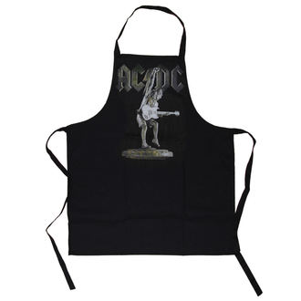 Tablier AC / DC - Stiff Upper Lip Apron - LOW FREQUENCY, LOW FREQUENCY, AC-DC