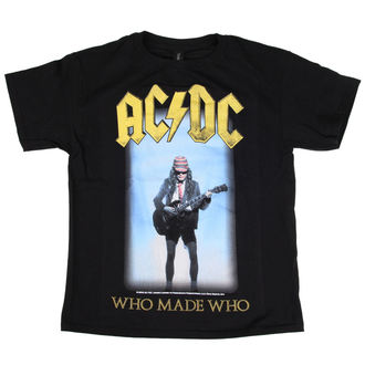 tee-shirt métal pour hommes enfants AC-DC - Who Made Who - LOW FREQUENCY, LOW FREQUENCY, AC-DC