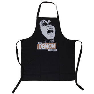 Tablier Kiss - Rock God Apron - LOW FREQUENCY, LOW FREQUENCY, Kiss