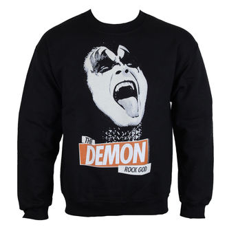 sweat-shirt sans capuche pour hommes Kiss - Rock God - LOW FREQUENCY, LOW FREQUENCY, Kiss