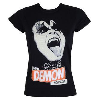 tee-shirt métal pour femmes Kiss - Rock God - LOW FREQUENCY, LOW FREQUENCY, Kiss