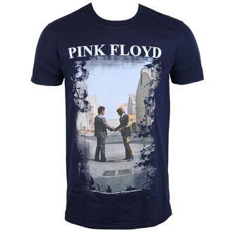 tee-shirt métal pour hommes Pink Floyd - Burning Man Navy - LOW FREQUENCY, LOW FREQUENCY, Pink Floyd