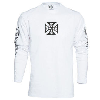 t-shirt pour hommes - WCC OG CROSS LONG SLEEVE - West Coast Choppers