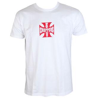 t-shirt pour hommes - WCC IRON CROSS - West Coast Choppers, West Coast Choppers