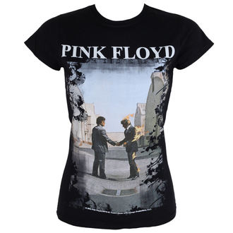 tee-shirt métal pour femmes Pink Floyd - Burning Man - LOW FREQUENCY, LOW FREQUENCY, Pink Floyd