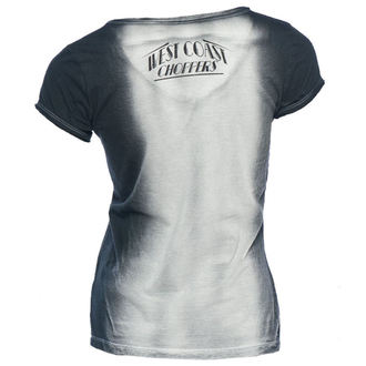 t-shirt pour femmes - WCC FAST AS HECK - West Coast Choppers