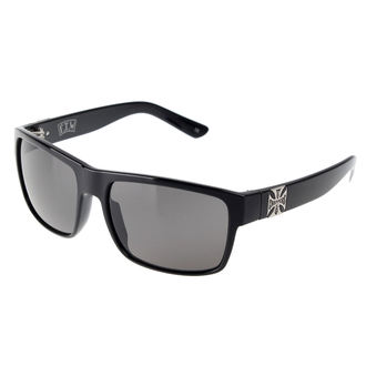 Des lunettes West Coast Choppers - SHINY BLACK SMOKED, West Coast Choppers