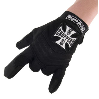 Des gants West Coast Choppers - RIDING - NOIR, West Coast Choppers