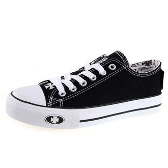 chaussures de tennis basses pour hommes pour femmes - WARRIOR LOW-TOP - West Coast Choppers, West Coast Choppers