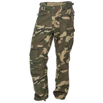 pantalon pour des hommes West Coast Choppers - WCC M-65 - CARGAISON CAMOUFLAGE - WCCBR108CF