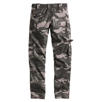 pantalon pour femmes SURPLUS - PREMIUM SLIMMY - NOIR CAMO, SURPLUS