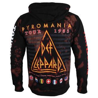 sweat-shirt avec capuche pour hommes Def Leppard - PYROMANIA - BAILEY, BAILEY, Def Leppard