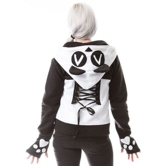 sweat-shirt avec capuche pour femmes - KP SPLIT UP - KILLER PANDA, KILLER PANDA