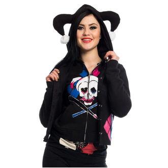 sweat-shirt avec capuche pour femmes Suicide Squad - HARLEY REBEL - - POI238