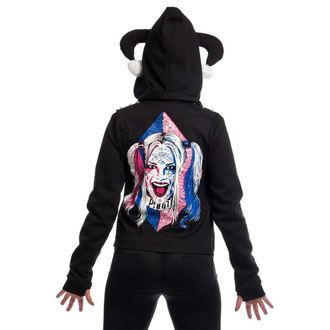sweat-shirt avec capuche pour femmes Suicide Squad - HARLEY REBEL - NNM, NNM, Suicide Squad