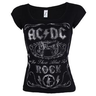 tee-shirt métal pour femmes AC-DC - Canon Swig - ROCK OFF, ROCK OFF, AC-DC