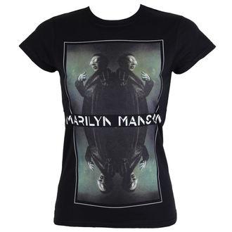 tee-shirt métal pour femmes Marilyn Manson - Mirrored - ROCK OFF, ROCK OFF, Marilyn Manson