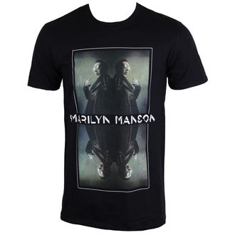 tee-shirt métal pour hommes Marilyn Manson - Mirrored - ROCK OFF, ROCK OFF, Marilyn Manson