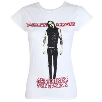 tee-shirt métal pour femmes Marilyn Manson - Antichrist - ROCK OFF, ROCK OFF, Marilyn Manson