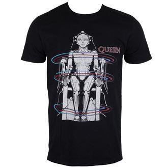 tee-shirt métal pour hommes Queen - European Tour 1984 - ROCK OFF, ROCK OFF, Queen
