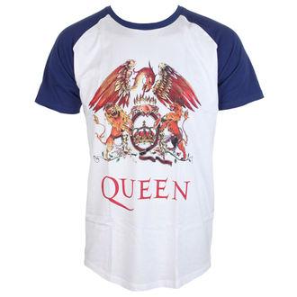 tee-shirt métal pour hommes Queen - Classic Crest - ROCK OFF, ROCK OFF, Queen