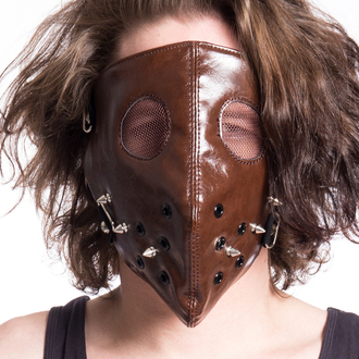 Masque POIZEN INDUSTRIES - HANNIBAL FACE - MARRON, POIZEN INDUSTRIES