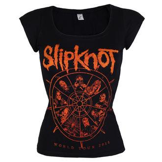 tee-shirt métal pour femmes Slipknot - The wheel - ROCK OFF, ROCK OFF, Slipknot