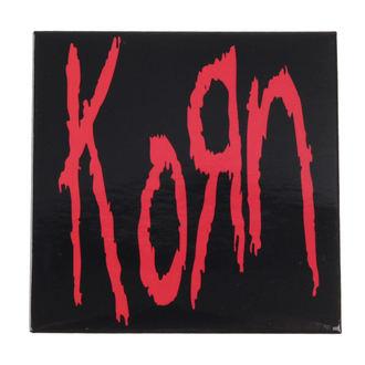 Aimant Korn - Logo - ROCK OFF, ROCK OFF, Korn