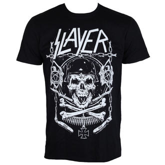 tee-shirt métal pour hommes Slayer - Skull & Bones - ROCK OFF, ROCK OFF, Slayer