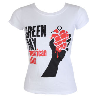 tee-shirt métal pour femmes Green Day - American Idiot - ROCK OFF, ROCK OFF, Green Day