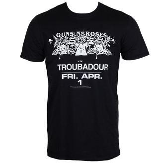tee-shirt métal pour hommes Guns N' Roses - Troubadour - ROCK OFF