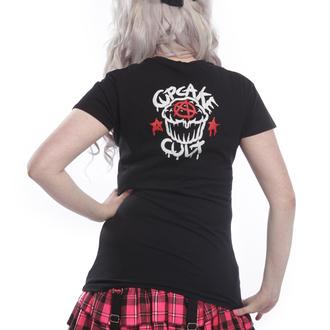 t-shirt pour femmes - TRIGGER Black - CUPCAKE CULT, CUPCAKE CULT