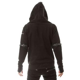 sweat-shirt avec capuche pour hommes - VOYAGE Black - VIXXSIN, VIXXSIN