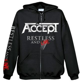 sweat-shirt avec capuche pour hommes Accept - Restless and live - NUCLEAR BLAST, NUCLEAR BLAST, Accept