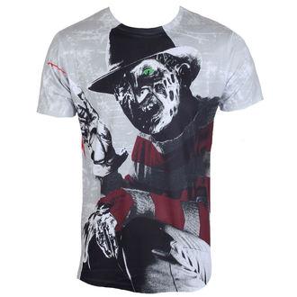 t-shirt de film pour hommes A Nightmare on Elm Street - Freddy Krueger - HYBRIS, HYBRIS, Les griffes de la nuit