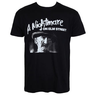 t-shirt de film pour hommes A Nightmare on Elm Street - Black - HYBRIS, HYBRIS, Les griffes de la nuit