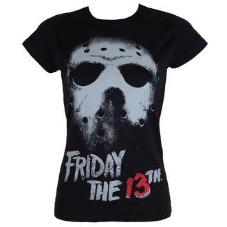 t-shirt de film pour femmes Friday the 13th - Black - HYBRIS, HYBRIS, Friday the 13th