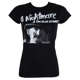 t-shirt de film pour femmes A Nightmare on Elm Street - Black - HYBRIS, HYBRIS, Les griffes de la nuit