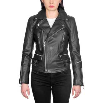 veste en cuir pour femmes - Defector Blk Nick - STRAIGHT TO HELL, STRAIGHT TO HELL