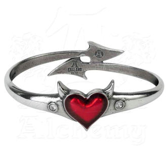bracelet ALCHEMY GOTHIC - Devil Heart, ALCHEMY GOTHIC
