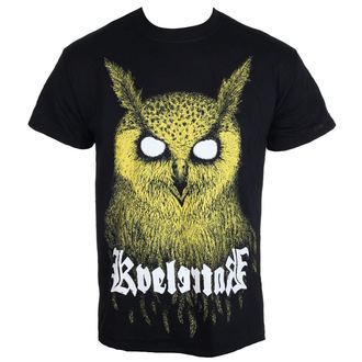 tee-shirt métal pour hommes Kvelertak - Barlett Owl Yellow - KINGS ROAD, KINGS ROAD, Kvelertak