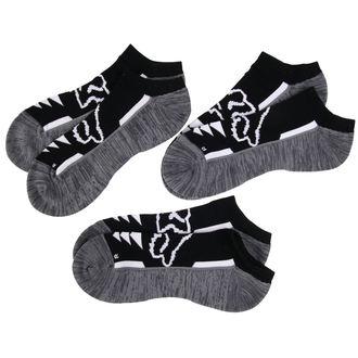 chaussettes cheville FOX - Perf No Show - Noir, FOX