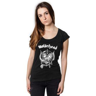 tee-shirt métal pour femmes Motörhead - Logo Cutted Back -, Motörhead