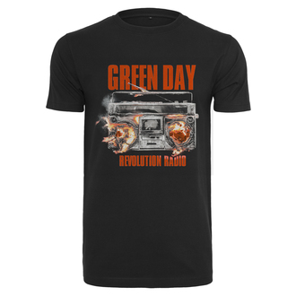 tee-shirt métal pour hommes Green Day - Radio - URBAN CLASSICS, URBAN CLASSICS, Green Day