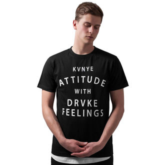 T-shirt pour des hommes Attitude and Feelings, URBAN CLASSICS